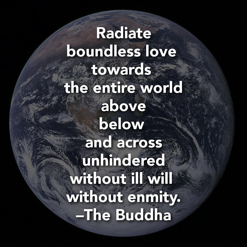 radiate boundless love