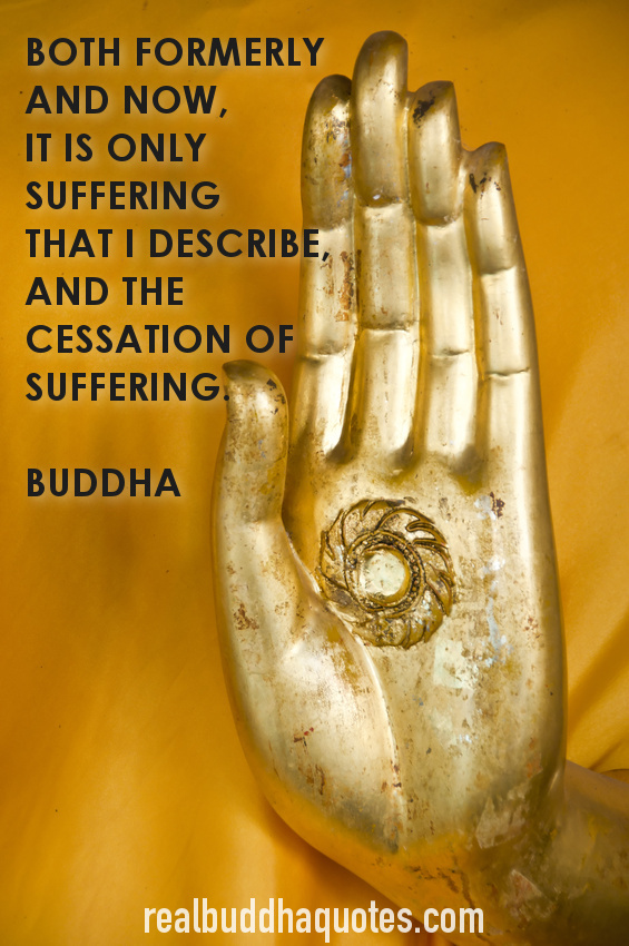 suffering and the cessation of suffering