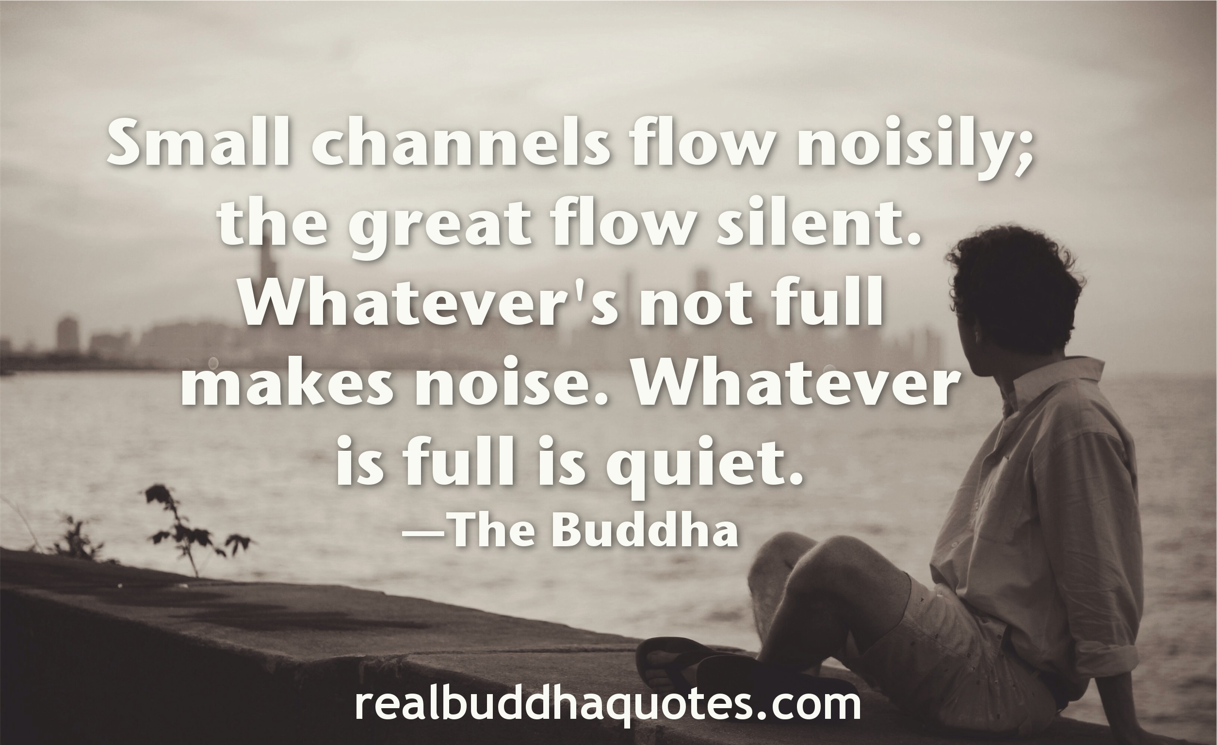 Image result for buddha quotes on quietness